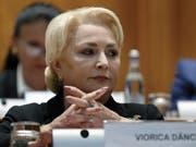 Konnte die Parlamentarier nicht mehr überzeugen und wurde abgewählt: Ministerpräsidentin Viorica Dancila. (Bild: KEYSTONE/EPA/ROBERT GHEMENT)