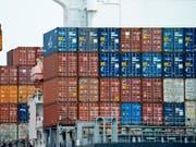 Die Stimmung der exportorientierten Schweizer KMU hat sich verschlechtert. (Bild: KEYSTONE/AP/ANDY WONG)