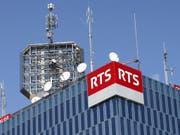 Das Westschweizer Radio und Fernsehen RTS hat mit seinem ersten Radioprogramm La 1ère das glaubwürdigste Medium in der Schweiz. (Bild: KEYSTONE/SALVATORE DI NOLFI)