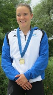 Die Herisauer Nachwuchsschwimmerin Lara Rechsteiner. (Bild: PD)