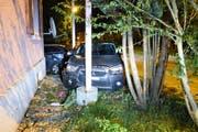 Der Unfallort. (Bild: Luzerner Polizei, 10. Oktober 2019)