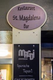 Das Restaurant St. Magdalena an der Eisengasse serviert auch Tapas. (Bild: Nadia Schärli, Luzern, 1. Oktober 2019)