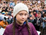 Greta Thurnberg. (Bild: Keystone)
