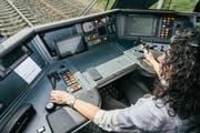 Im halbautomatischen Betrieb werden die Lokführerinnen und Lokführer von Assistenzsystemen entlastet. (Bild: SOB/Daniel Ammann)