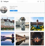 Bilder: https://www.instagram.com/explore/tags/kapellbrücke