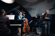 Das Yuri Storione Quartett tritt am 14. Oktober im Bistro Einstein auf. (Bild: PD)