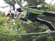 Im Vierten Jahr in Folge der beste Schweizer Skispringer: Killian Peier (Bild: KEYSTONE/EPA PAP/GRZEGORZ MOMOT)