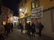 Bei der Genossenschaftsbeiz Schwarzer Engel interessieren sich wenige für die Olma. (Bild: Marco Cappellari)