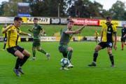 Am Samstag kämpfte der SC Brühl gegen ein sehr starkes Stade Nyonnais ziemlich unglücklich. (Bild: SC Brühl)