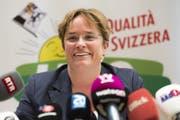 Magdalena Martullo-Blocher ergatterte ihren Nationalratssitz für die SVP dank den Auslandschweizern. (Bild: Keystone)