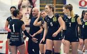 Es steht in den Sternen, ob ein Steinhauser Volleyballteam jemals wieder in der zweithöchsten Liga jubeln kann. (Bild: Maria Schmid, Steinhausen, 16. März 2019)