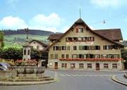 Undatiertes Postkartenbild des Gasthauses zur Linde. Bilder: Archiv Michael Schärli