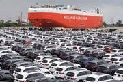 Chinas Aussenhandel ist drastisch eingebrochen. Symbolbild. (Bild: Keystone)
