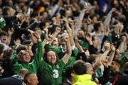 Legendär: Irische Fans verbreiten tolle Stimmung während Spielen ihrer Lieblinge. (Bild: Keystone)