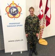Jolanda Annen anlässlich des Informationsrapports in der Kaserne Bern. (Bild: Gabriel Christen, 21. August 2019)