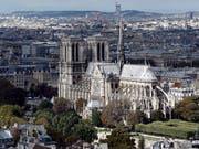 Die verurteilten Anhängerinnen der Terrormiliz IS planten den Behörden zufolge im September 2016 einen Anschlag nahe der Pariser Kathedrale Notre-Dame. (Bild: KEYSTONE/EPA POOL/ETIENNE LAURENT / POOL)