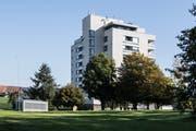 Der Spitalbau aus den 70er-Jahren soll durch einen Neubau ersetzt werden. (Bild: Nadia Schärli, Wolhusen, 14. Oktober 2019)