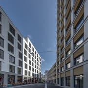 Das neue Gesicht von Kriens: Der Mattenhof beschert der Stadt neue Einwohner. Doch die Steuereinnahmen sprudeln noch nicht wie gewünscht. (Bild: Pius Amrein, 10. September 2019)