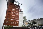 Wird der Kulturhof «Hinter Musegg» bald durch einen städtischen Sonderkredit unterstützt? (Bild: Jakob Ineichen, Luzern, 15. Oktober 2019)