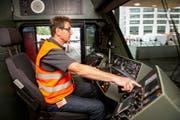 Die Bundesbahnen suchen händeringend nach Lokführern. (Bild: Melanie Duchene/Keystone (Zürich, 5. Juli 2018))