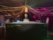 Übermensch Friedrich Nietzsche in Bronze (Büste von Max Klingler). (Bild: Historisches Museum Basel, Natascha Jansen)