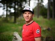 Der Schweizer Mountainbike-Spezialist Florian Vogel tritt mit 37 Jahren vom Spitzensport zurück (Bild: KEYSTONE/GIAN EHRENZELLER)