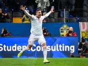 Rodrigo schoss Spanien vorzeitig an die EM (Bild: KEYSTONE/EPA TT NEWS AGENCY/ANDERS WIKLUND/TT)