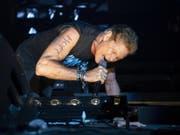 Der US-Sänger und Schauspieler David Hasselhoff hat auf seiner «Freedom! The Journey Continues Tour 2019» in Zürich Halt gemacht - und wollte nicht mehr gehen. (Keystone/Ennio Leanza) (Bild: Keystone/ENNIO LEANZA)