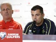 Granit Xhaka pflegt ein sehr gutes Verhältnis mit Trainer Vladimir Petkovic (Bild: KEYSTONE/SALVATORE DI NOLFI)