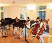 Jeden Abend geben die jungen Musiker ein Konzert. Bild: Alexa Maier