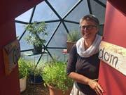 Sabina Gränicher vertritt den Kanton St.Gallen im Zukunftslabor, dem Catalyst Lab. (Bild: Michael Hug)