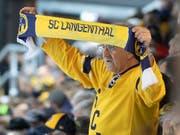Langenthal kommt in der Swiss League immer besser in Fahrt (Bild: KEYSTONE/MARCEL BIERI)