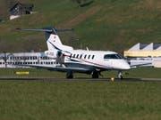 Das 50. Exemplar des Business-Jet PC-24 ist an einen US-Kunden ausgeliefert worden. (Archivbuld) (Bild: KEYSTONE/CHRISTIAN BEUTLER)