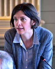 Bettina Surber, Co-Fraktionspräsidentin.