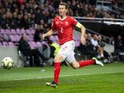 Captain Stephan Lichtsteiner bestritt gegen Irland sein 107. Länderspiel (Bild: KEYSTONE/JEAN-CHRISTOPHE BOTT)