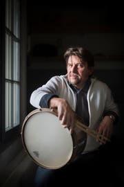 Schlagzeuger Ernst Brunner (Bild: Benjamin Manser, 2016)