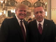 Recep Tayyip Erdogan hat angekündigt, die Tweets von Donald Trump künftig zu ignorieren. (Bild: Keystone/EPA TURKISH PRESIDENTIAL PRESS O/TURKISH PRESIDENTIAL P)