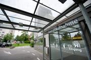 Notfallaufnahme am Kantonsspital St. Gallen (Bild: Urs Bucher)