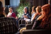 Die Diskussionsrunde am Austausch- und Vernetzungstreffen thematisierte Grenzen und deren Überschreitungen. (Bilder: Ralph Ribi)