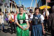 Der «Tag der Bäuerin» an der Olma stellte nicht die Folklore ins Zentrum, sondern den Ausbruch aus festgefahrenen Rollenbildern.