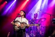 Sängerin Janine Cathrein von Black Sea Dahu: Naiv ist in der Band niemand.
