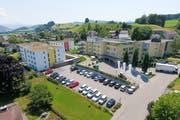 Das Seniorenzentrum Solino in Bütschwils Zentrum. (Bild: PD)