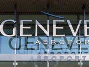 Eine Korruptionsaffäre erschütterte 2018 den Flughafen Genf. Betroffen ist der Sicherheitsdienst. (Bild: Keystone/MARTIAL TREZZINI)