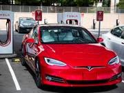 Der Elektroautohersteller Tesla hat grünes Licht für die Aufnahme seiner Produktion in China erhalten. (Bild: KEYSTONE/AP Las Vegas Sun/WADE VANDERVORT)