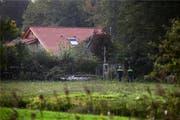 Hier lebte die Familie völlig isoliert. Bild: Keystone (Ruinerwold, 16.10.2019) (Bild: keystone-sda.ch)