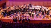 Das Zentralschweizer Jugendsinfonieorchester tritt in Altdorf auf. (Bild: Thomas Krähenbühl)
