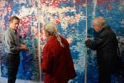 Richard Tisserands hat seinen ersten Wandteppich in Frankreich herstellen lassen.