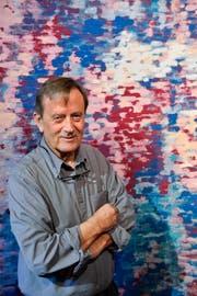 «Ich male nur Farben», sagt Richard Tisserand. (Bilder: Donato Caspari)