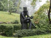 Auf einmal ist es nicht mehr sicher, ob der irische Schriftsteller James Joyce für immer im Ehrengrab auf dem Zürcher Friedhof Fluntern ruhen wird. (Bild: Keystone/CHRISTIAN BEUTLER)