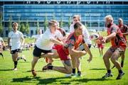Rugby: Bishops Cup RFC St. Gallen 2017. Final Männer: Basel gegen St. Louis @ Urs Bucher/Tagblatt